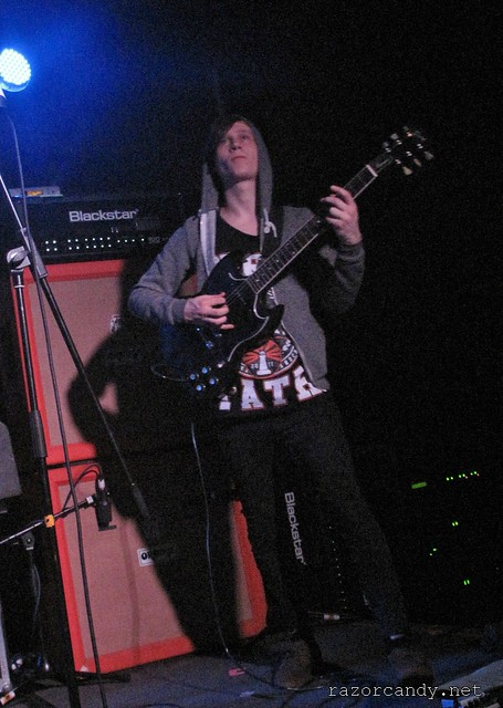 Rolo Tomassi - Slade Rooms - 16th April, 2012 (4)