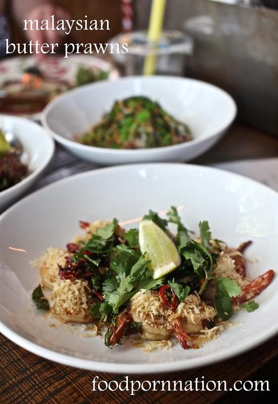 malaysian butter prawns