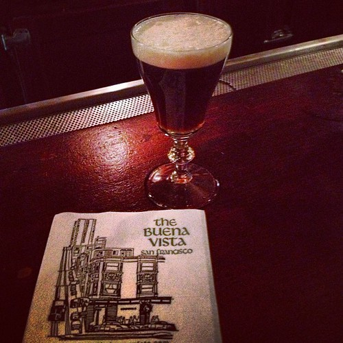 Irish Coffee at The Buena Vista where it all started by @MySoDotCom