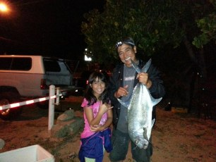 Hi Gary, Midnight catch. Just as the moon was going down. Sierra & Daddy. Happy Father's Day!
