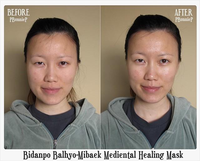Bidanpo Balhyo-Mibaek Mediental Healing Mask 02