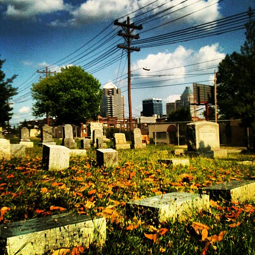 Green Hill Cemetery by Greensboro NC