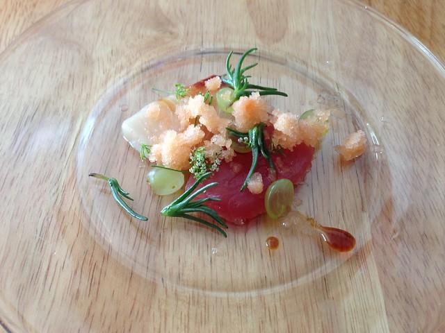 Ahi tuna nigiri - Roxy's Cafe