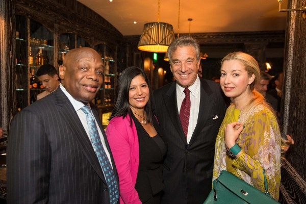 Willie Brown, Xochi Birch, Paul Pelosi, Sonya Molodetskaya