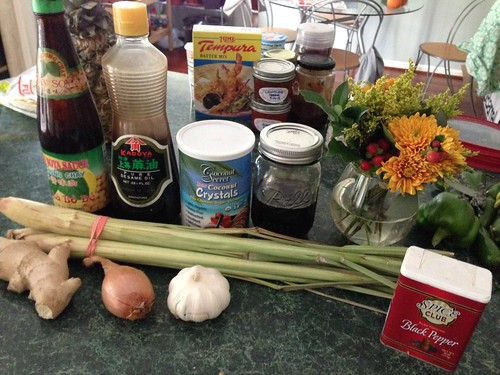 Grilled Lemongrass Chicken ingredients