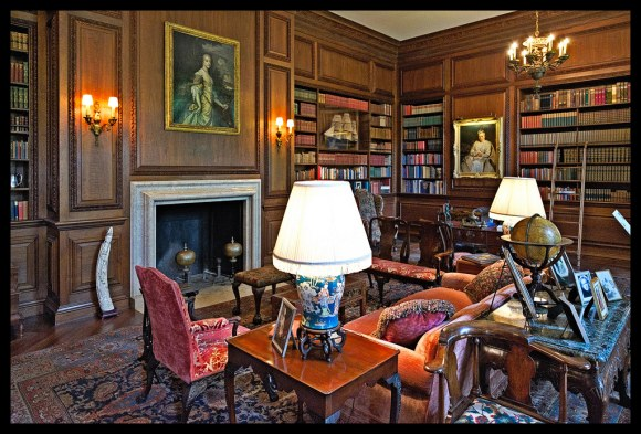 The Library - Filoli - 2014
