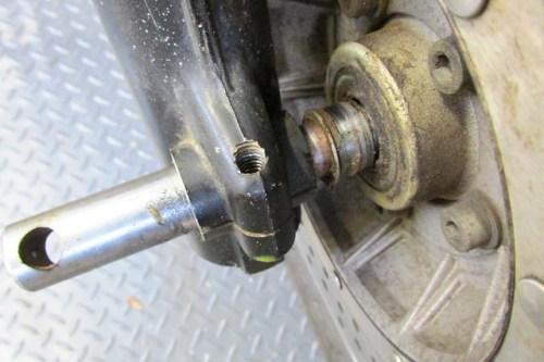 Wheel Right Bearing Cap