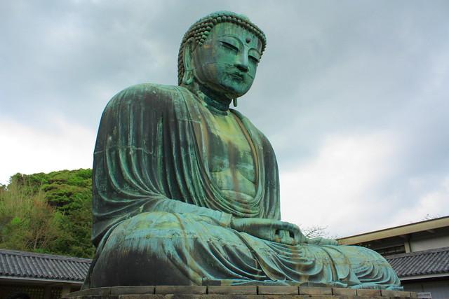 Kamakura Buddha Statue (2/2)