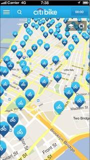 citi bike app