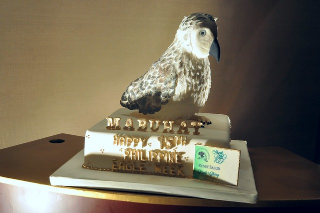 15th Philippine Eagle Week Cake by Penk Ching