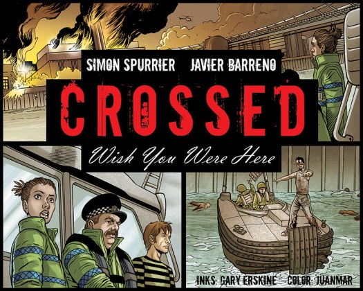 Crossed web comic cover