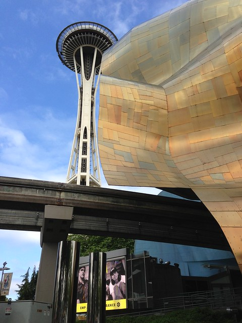 Space Needle, Monorail, and the EMP