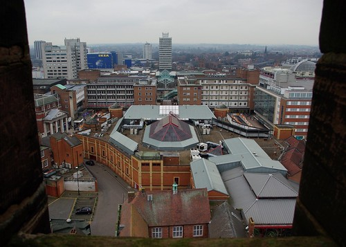 20120129-58_Coventry CIty Centre - The Precinct from Old Cathedral Spire by gary.hadden