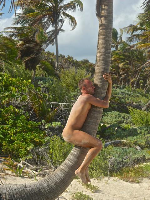 naturist 0005 Sian Kaan beach, Quintana Roo, Mexico