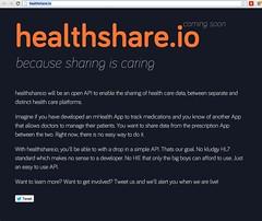 Health Datapalooza: Healthshare.io