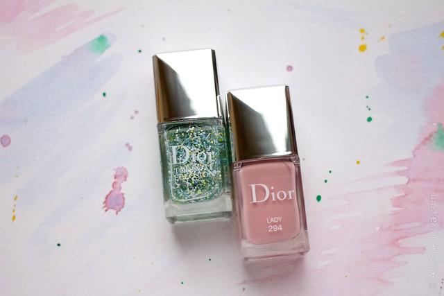 01 Dior #294 Lady + Dior Top Coat Eclosion