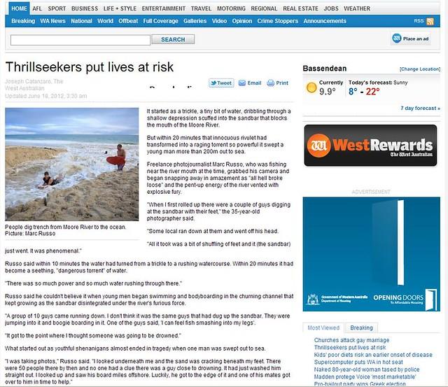 Taken off the West Australian news site part 1
