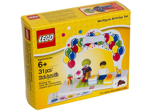 850791 LEGO Minifigure Birthday Set Box