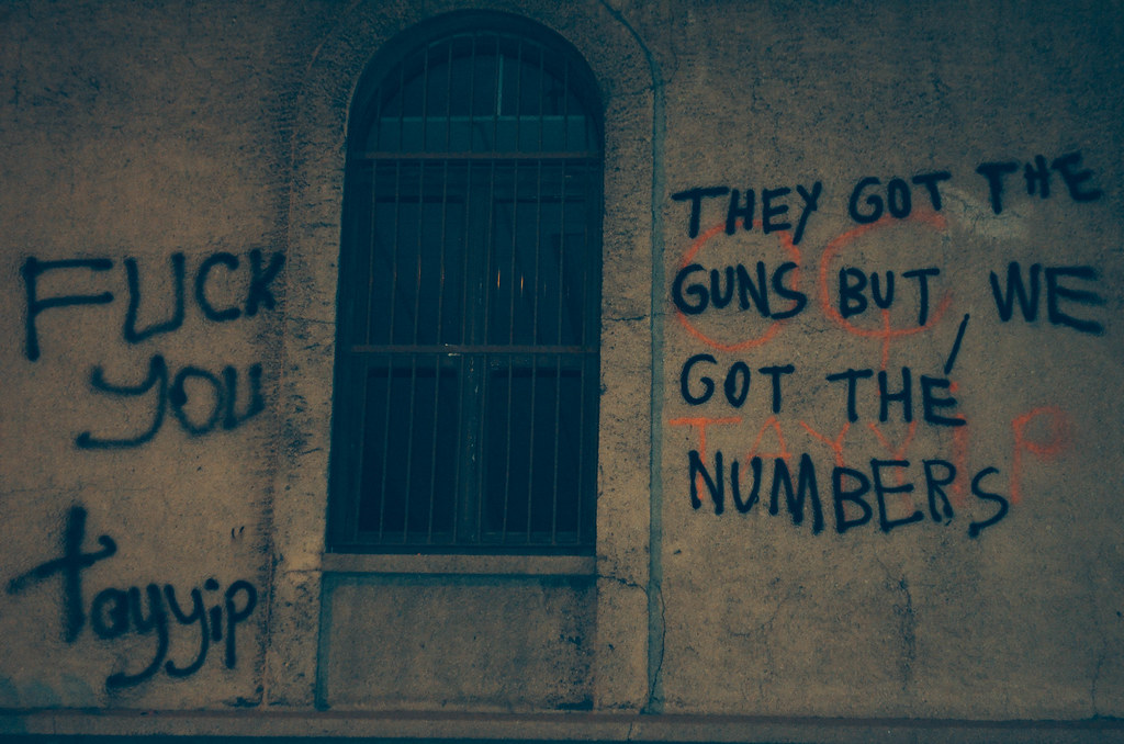 They Got the Guns But We Got the Numbers