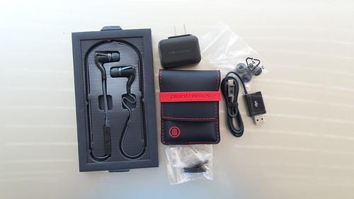 อุปกรณ์ที่มากับชุดหูฟัง Plantronics BackBeat Go 2
