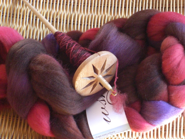Jeri Brock Spindle and Western Sky Knits