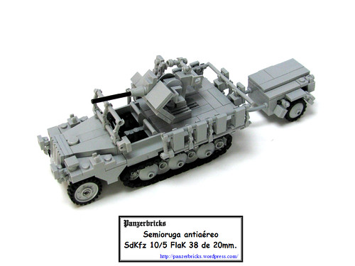 SdKfz 10/5 FlaK 38 20mm. de Panzerbricks