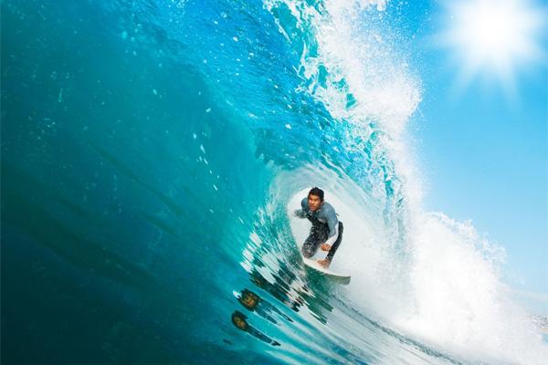 Surfing Tanjung Sopi