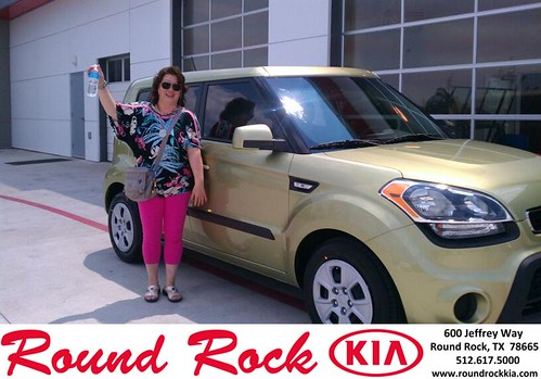 Thank you to Chi Peng on the 2013 Kia Soul from Fidel Martinez and everyone at Round Rock Kia! by RoundRockKia