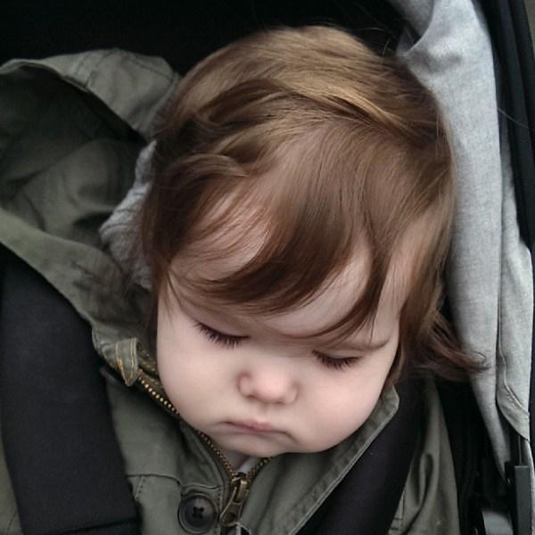 Sleepyhead #tinybuttonsblog