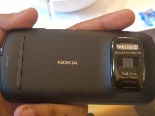 Nokia 808 PureView camera