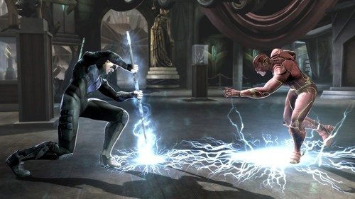 injustice - Nightwing VS. The Flash