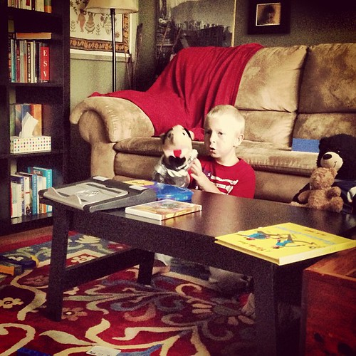 Puppet show #summervacation day fifty.one
