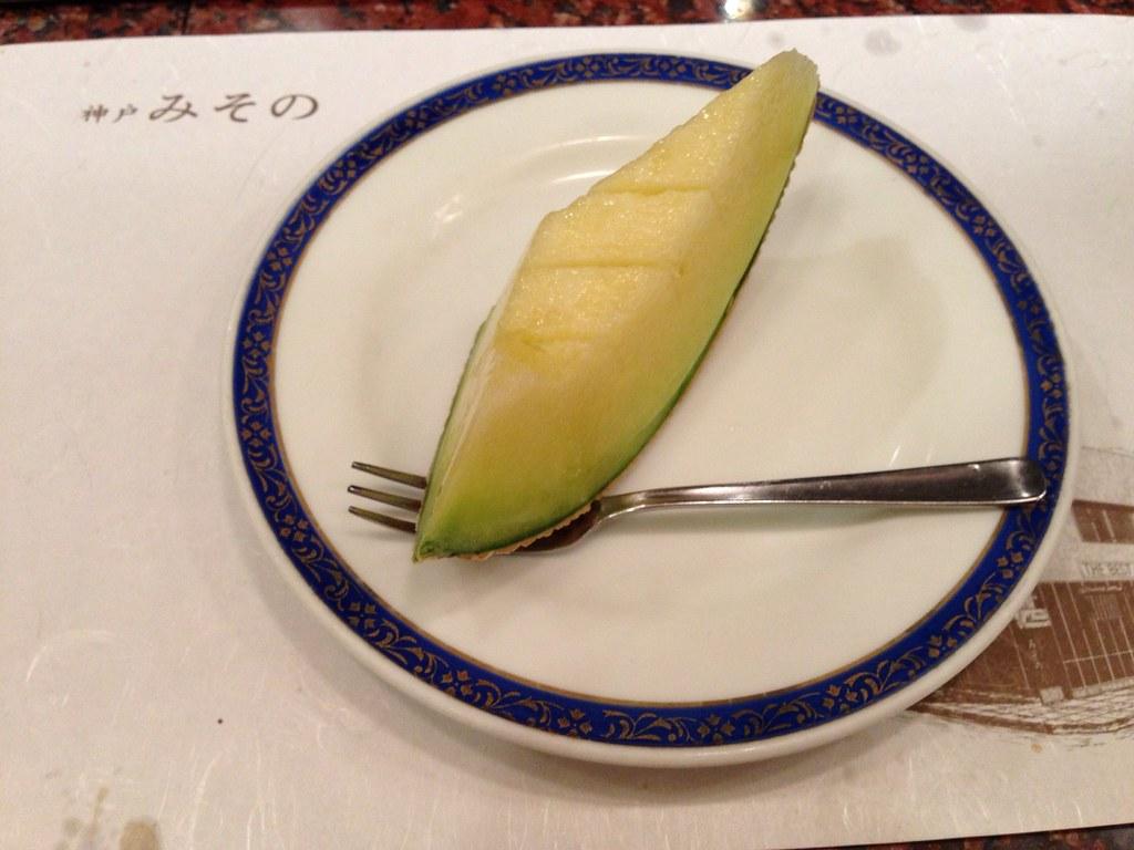 Muskmelon as Dessert