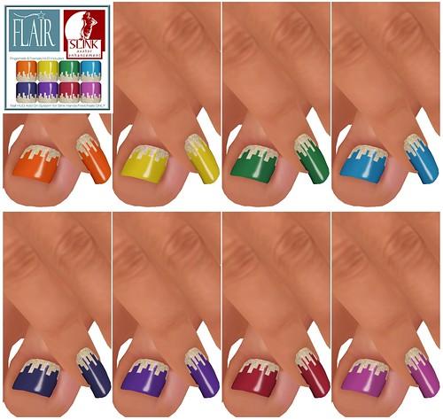 Flair - Nails Set 70
