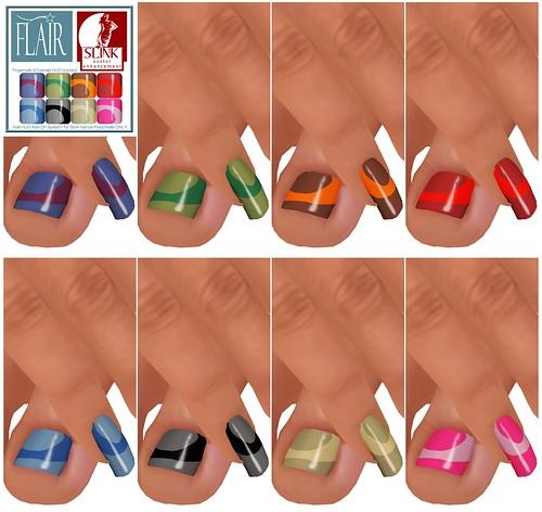 Flair - Nails Set 76