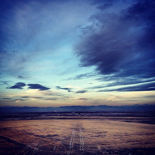 Early morning over the Rockies by @MySoDotCom