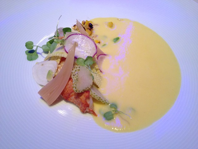Butter poached lobster - Luce