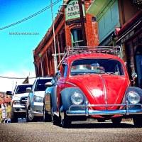 Spotted! a vintage Volkswagen Beetle, Jerome, AZ
