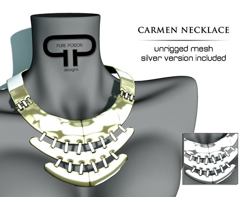 Pure Poison - Carmen Necklace