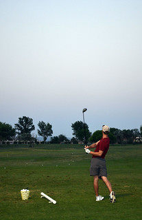 Golf i solen