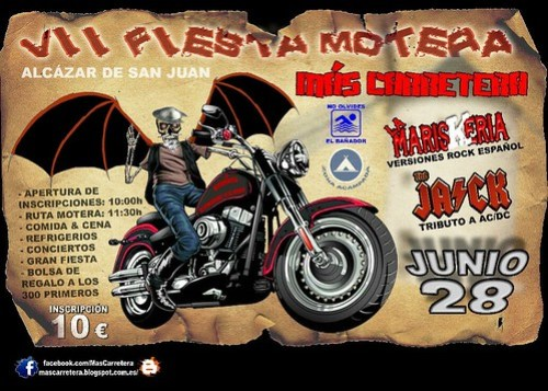 VII Fiesta Motera Más Carretera - Alcázar de SAn Juan