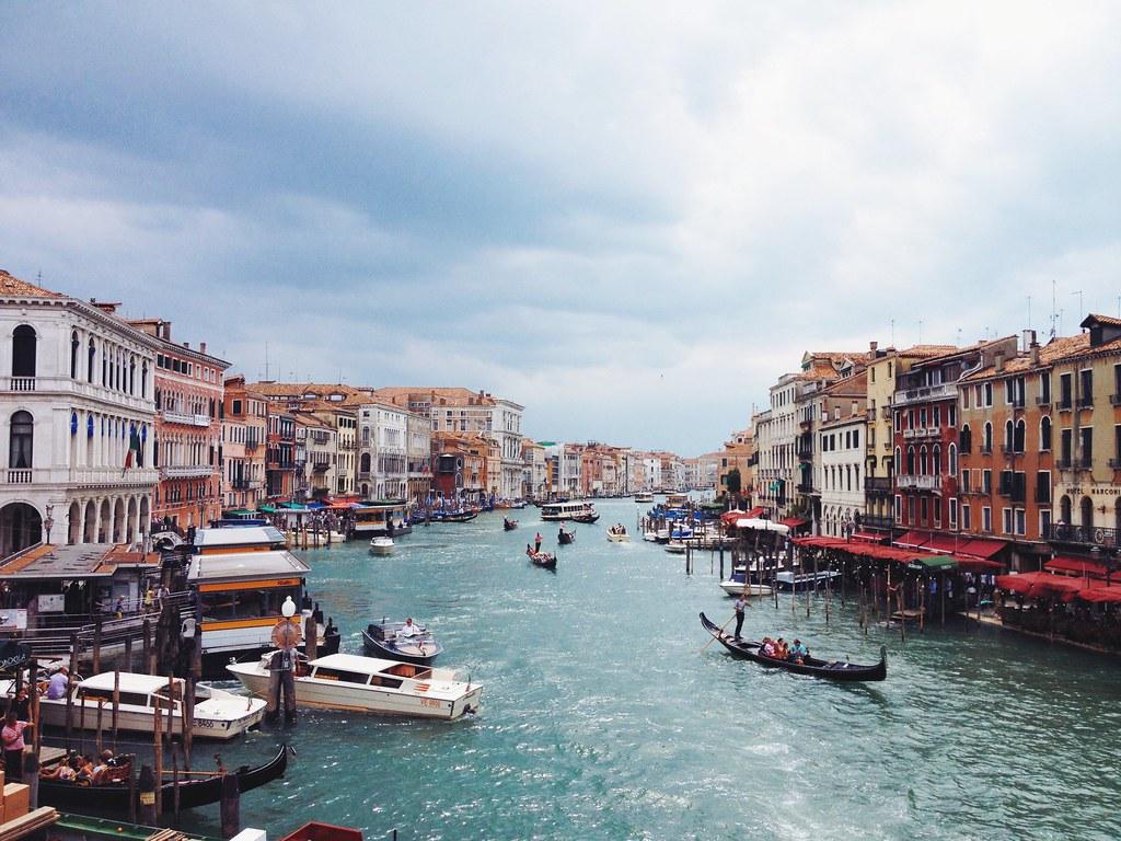 Imagen gratis de Venecia y sus canales