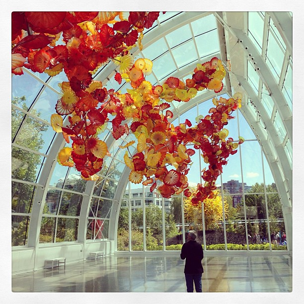 Chihuly Garden and Glass Museum. #seattle
