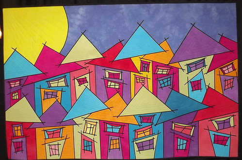 IQF Chicago 2013 - Tutti Frutti Village by Susan Bleiweiss