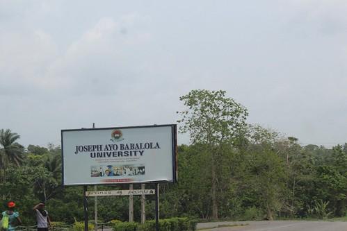 Joseph Ayo Babalola University. by Jujufilms