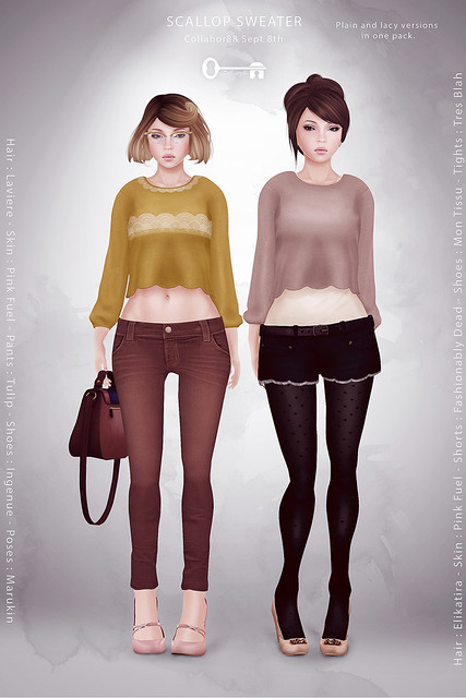 Scallop Sweater