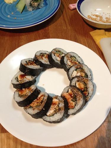 Chicken Teriyaki sushi