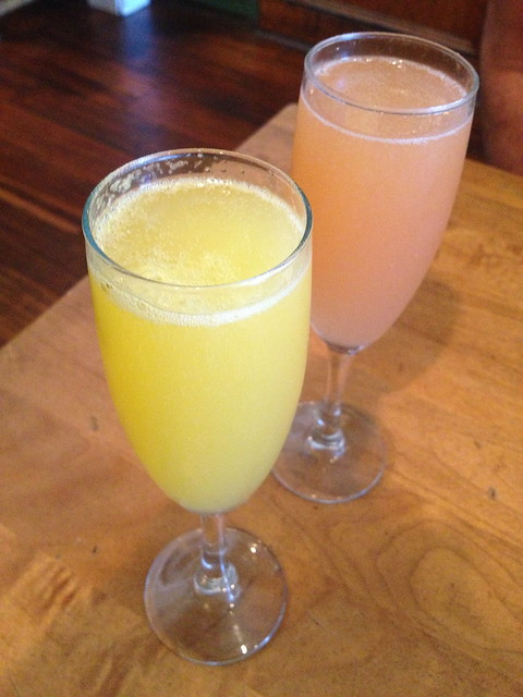 Brunch sparkling cocktails - Liberty Cafe