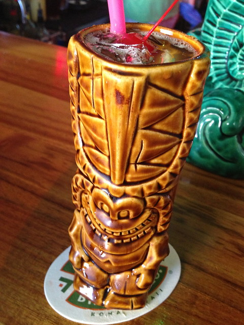 Zombie cocktail - Hula's Island Grill