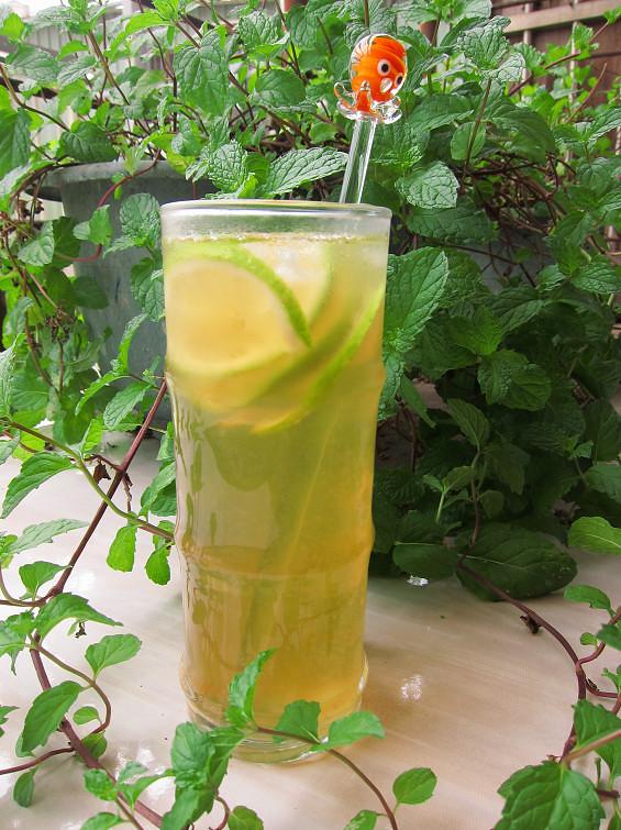 碧綠檸檬茶